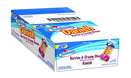 Hostess Danish, Berries & Cream Cheese, 5 Ounce, 6 Count