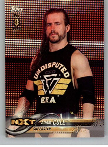 Nxt 1 - 2018 Topps Wrestling WWE #1 Adam Cole First NXT Card Sports Card
