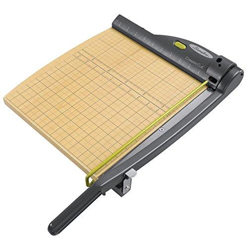 Swingline ClassicCut Laser Guillotine Trimmer, 12'' Cut Length, 15 Sheet Capacity by Swingline