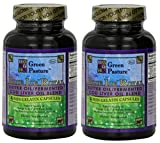 Green Pasture BLUE ICE Royal Butter Oil / Fermented Cod Liver Oil Blend 120 CAPSULES