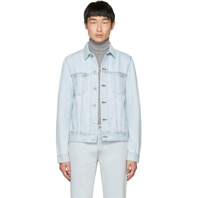 (アクネ ストゥディオズ) Acne Studios メンズ アウター ジャケット Blue Denim Pass Jacket [並行輸入品] B07D161ZDC   IT46