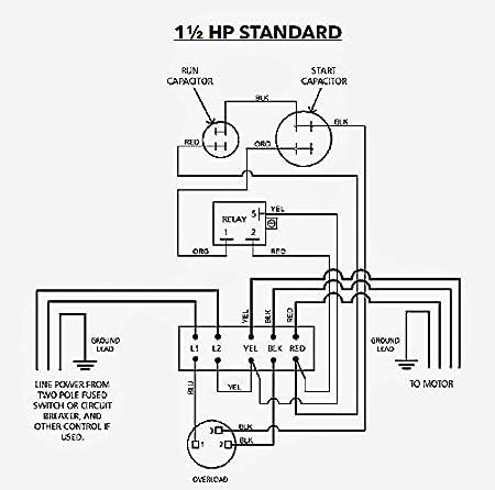 cb15412cr centripro submersible pump control box 1 5 hp 230 v goulds Pump Panel Wiring Diagram