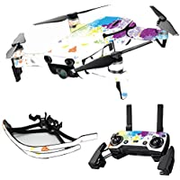 MightySkins Skin for DJI Mavic Air Drone - Splash Of Color   Max Combo Protective, Durable, and Unique Vinyl Decal wrap cover   Easy To Apply, Remove, and Change Styles   Made in the USA
