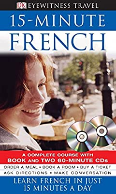 15 Minute French 2 Cds Book Learn French In Just 15 Minutes A Day Amazon Co Uk Caroline Lemoine 9781405309714 Books