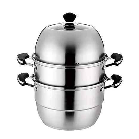 DYXT Olla de Vapor de Acero Inoxidable, Cocina casera 3 ...