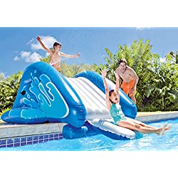 VirtualSurround Kool Splash Kids Inflatable Swimming Pool Water Slide Accessory 58849EP