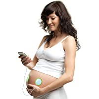 Pixie Tunes Premium High-Fidelity Baby Bump Speaker System to Play Sound, Music and Talk to Your Baby in The Womb; Compatible with Any Mobile Phone, Tablet and Portable Audio Device (White)