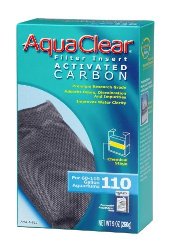 (6 Pack) Aquaclear 110 Activated Carbon Insert by Fluval