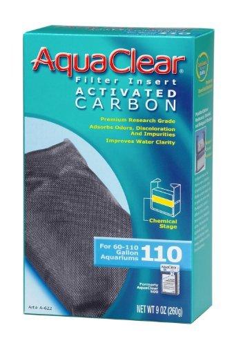 (6 Pack) Aquaclear 110 Activated Carbon - 110 Insert Foam Aquaclear
