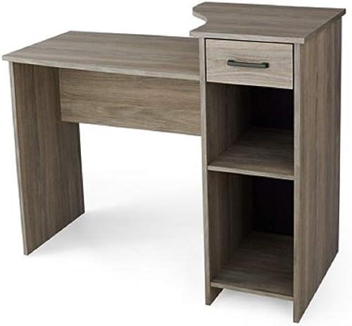 Mainstays Student Desk – Home Office Bedroom Furniture Indoor Desk – Easy Glide Accessory Drawer Desk Only, Rodeo Oak Desk Only, Oak