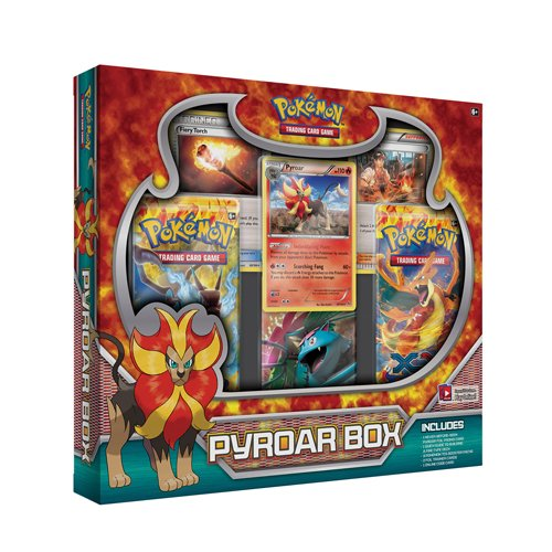 Pokemon Pyroar Box by Pokémon