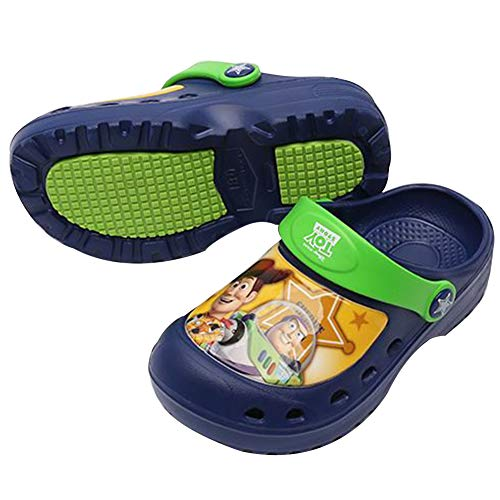 Joah Store Boys Navy EVA Slippers Clog Mule Shoes Toy Story Sandals (Parallel Import/Generic Product) (6 M US Toddler, Toy (Best Generic Toddlers Toys)