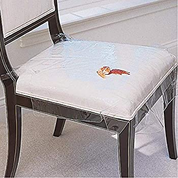 Amazon Com Clear Vinyl Chair Protectors Fits Chairs Up To