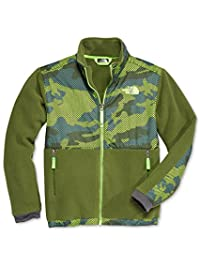 The North Face Denali Boys Jacket - Small/Terrarium Green Mesh Camo