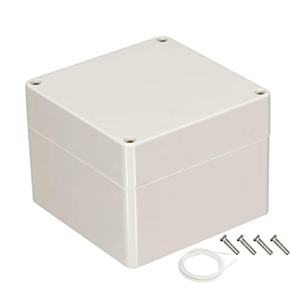 YXQ 83x81x56mm Junction Box Project Case IP65 Waterproof ABS DIY