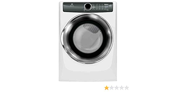 Electrolux EFMG517SIW Perfect Steam 8.0 Cu. Ft. Gas Dryer with Instant Refresh and 8 cycles in Island