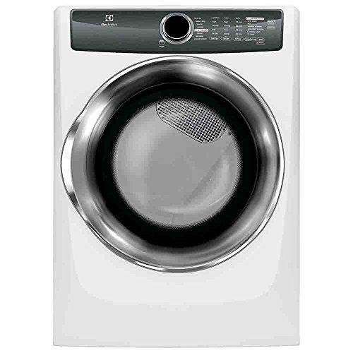 Electrolux EFMG517SIW Perfect Steam 8.0 Cu. Ft. Gas Dryer wi