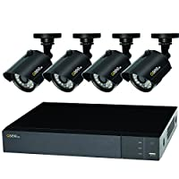 Q-See (Certified Refurbished) QTH84-4Z3-1R, 8-CH 1080P Analog HD DVR with 1TB HDD, 4-720P BNC Bullet Cameras