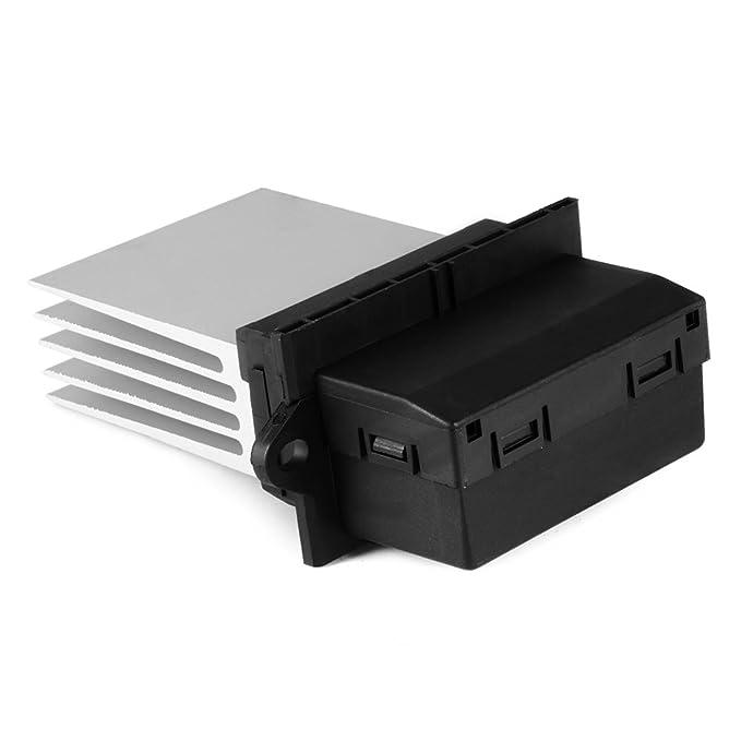 XCSOURCE® Calentador Motor Resistencia del soplador Aire acondicionado Ventilador Resistencia de velocidad Reemplazo 7701048390 6441L2 MA959: Amazon.es: ...
