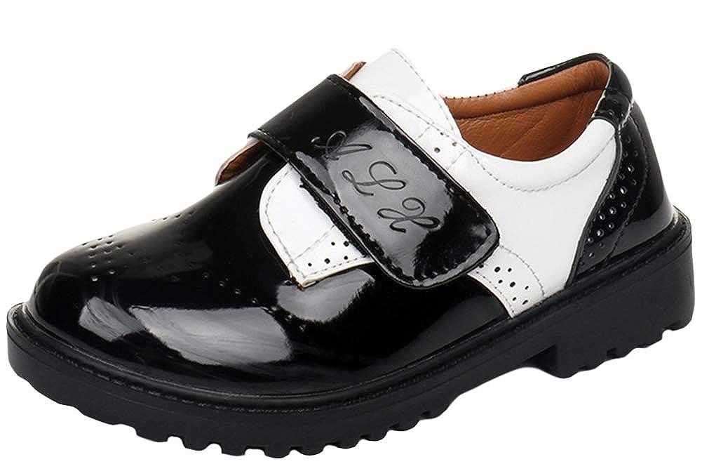 SK Studio Formal Oxford Uniform Dress Shoes (Toddler/Little Kid/Big Kid)