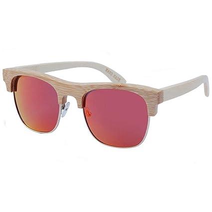 Gafas sol Color de La Personalidad Polarizadas Moda Color Brillante Protección UV Mujer Y Hombre Gafas