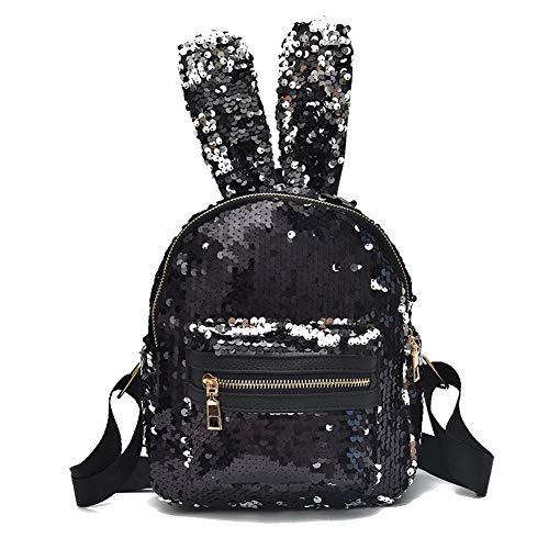 Black Zippers Black GMDBA203250 Dacron Bags Pu Shoulder Women's AgooLar Casual 5vpqwHz