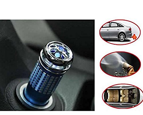 Enshey 12V Car Air Purifier Auto Purifier Oxygen Bar Air Cleaner Odor Eliminator Air Freshener Air Smoke Odor Cleaner Eater Eliminator for Car, Air Cleaner, Remove Smoke, Bacteria, Dust, Formaldehyd