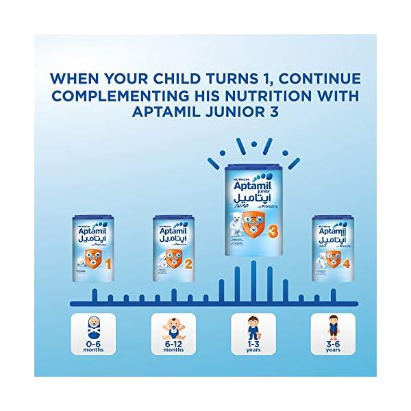 Aptamil 2 Follow On Formula Milk, 900g