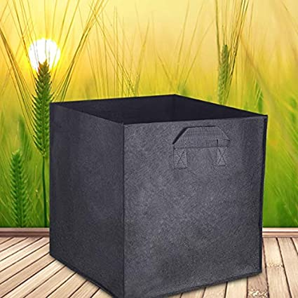 Amazon.com: Bolsa de maceta de 2 piezas de macetas de ...
