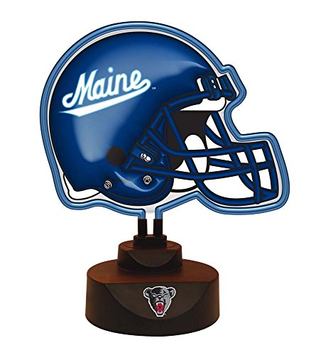 NCAA Maine, University of Official Neon Helmet Lamp, Multicolor, One Size by The Memory Company