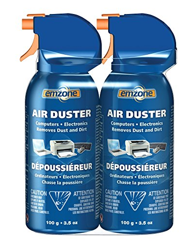 Moneysworth & Best Emzone Air Duster (Aerosol) Mini Double Pack