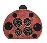 Welliver Outdoors Solitary Bee House, Ladybug