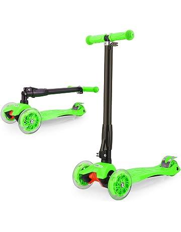 GOSFUN EU Patinete Niña Patinete de 3 Ruedas con Diseño Scooter para Niños de 2 a