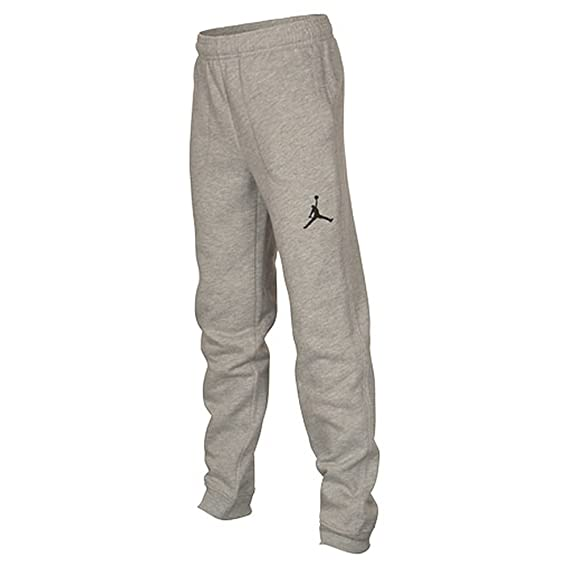 65dd70306d72 Nike Boy s Air Jordan Varsity Sweatpants Training Pants Heather Grey  Medium  Amazon.co.uk  Sports   Outdoors
