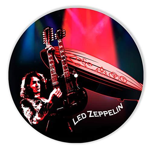 Led Zeppelin Decor Vinyl Painted - Wall Art