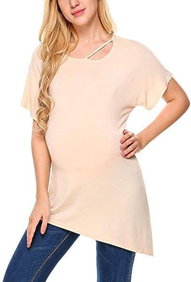 Mujeres Embarazadas Maternidad Camiseta Ropa De Mujer Embarazada ...