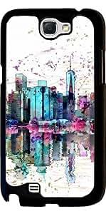 Funda para Samsung Galaxy Note 2 (GT-N7100) - Nueva York by Andrea Haase