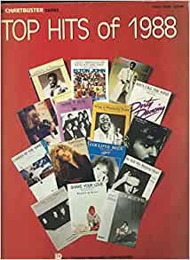 Top hits of 1988 sheet music various books for Biggest songs of 1988