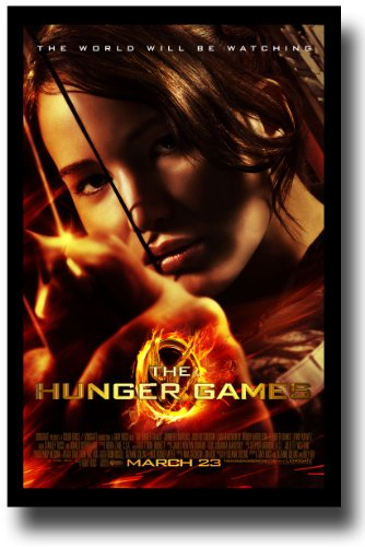 Hunger Games Poster - Promo Flyer 2012 Movie - 11 X 17 - Jen