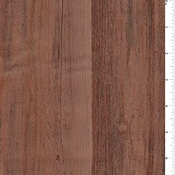 mesquite woodgrain oilcloth fabric by the yard