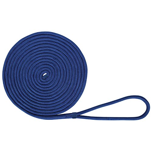 Extreme Max 3006.2111 BoatTector Double Braid Nylon Dock Line - 1/2