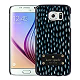 Luxurious And Nice Custom Designed Kate Spade Cover Case For Samsung Galaxy S6 Black Phone Case 203