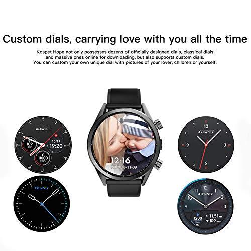 Momangel Moda Simple Esperanza 4G Reloj Inteligente 3 + 32G Tarjeta De Memoria Grande Puede Comunicar Monitoreo De Frecuencia CardíAca Impermeable