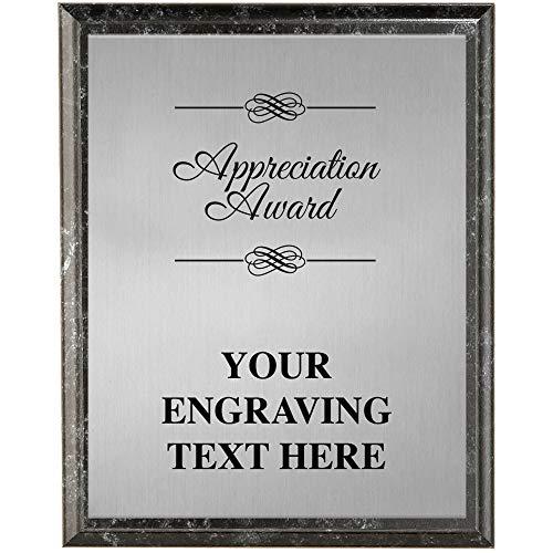 (Crown Awards Corporate Appreciation Plaques - 8 x 10 Appreciation Award Etched Recognition Trophy Plaque Award Prime)