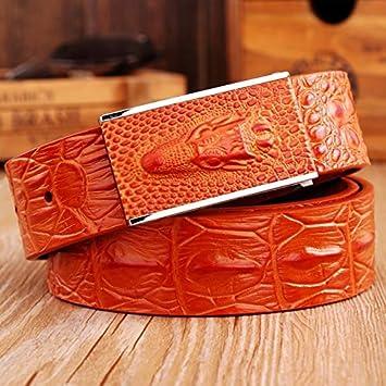 BCNJ Cinturón Tejeduría Pretina Diseñador Hebilla Lisa Cuero Genuino Cinturón Vintage Vaqueros Cintura Vaqueros Correa