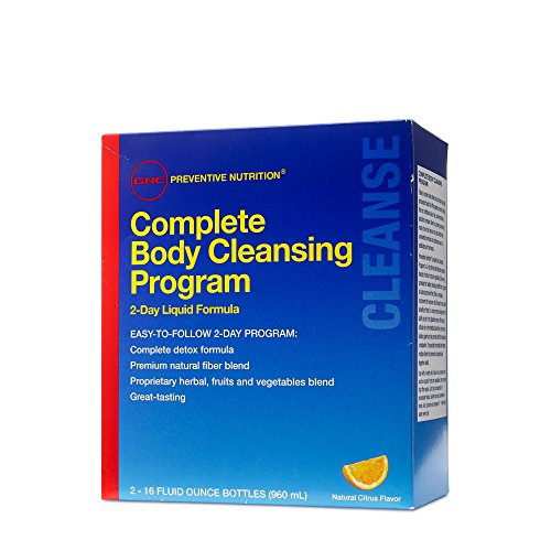 GNC Preventive Nutrition Complete Body Cleansing Progrm 2 16 Fluid Ounce Bttls