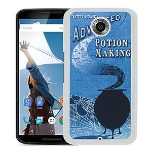 Popular Sale Google Nexus 6,Advanced Potion Making Harry Potter Libatius Book White Unique Custom Google Nexus 6 Phone Case