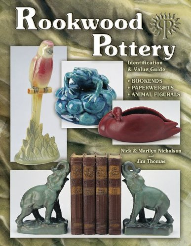Rookwood Pottery, Identification & Value Guide, Bookends, Paperweights & Animal Figurals