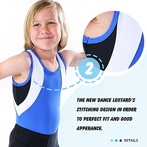 8b28083bd0a2 Boy's Gymnastics Leotard Toddler Ballet Dance Practice Athletic Competition  Training Tank