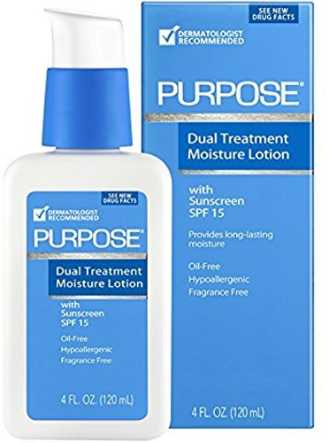 PURPOSE Dual Treatment Moisturizer, SPF 10 4 oz by With a Purpose J&J
